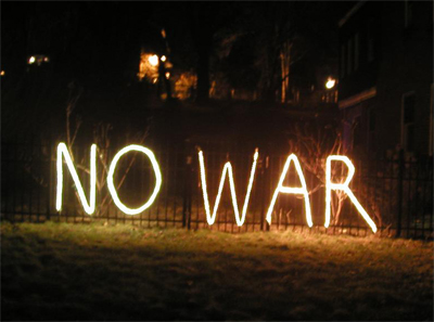 NO MORE WAR! PLEASE!