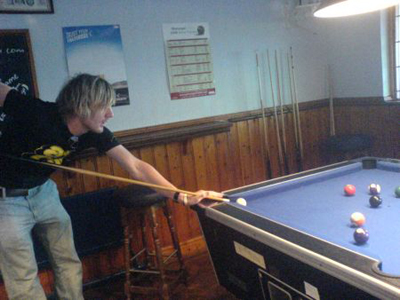 Drinking and Playing Pool - Was My Favourite Passtime