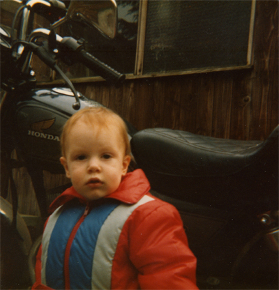 Riki Luke Buckingham - Probably About 2 or 3 Years Old